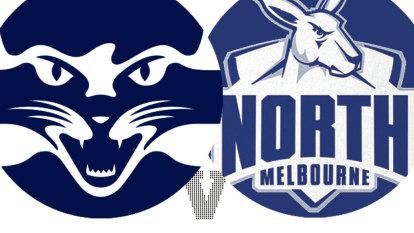 As it happened AFL 2021: Cats outlast Roos as Dangerfield 'tweaks' ankle; Demons start 5-0; Crows lose to Dockers
