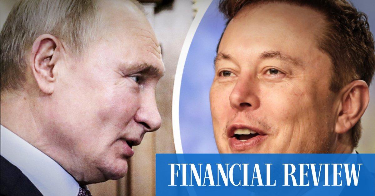 Elon Musk's Vladimir Putin Clubhouse invite was a 'misunderstanding', says the KremlinAustralian Financial ReviewAustralian Financial Review