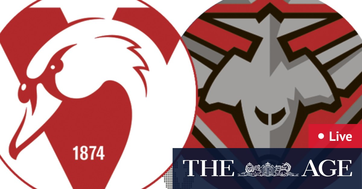 AFL 2021 LIVE updates: Essendon Bombers take on the red hot Sydney Swans at the SCG – The Age