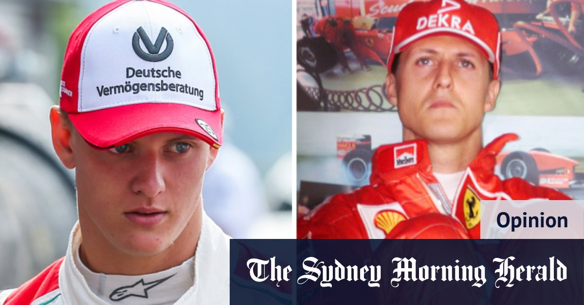 Schumacher Jnr's F1 debut to evoke wonderful memories of his champion father - Sydney Morning Herald