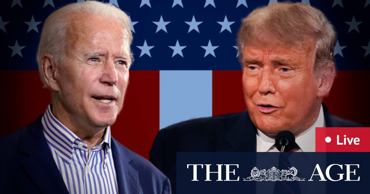 US election LIVE updates: Trump wins safe Republican states across nation as Biden takes New Jersey Vermont Virginia and Rhode Island – The Age