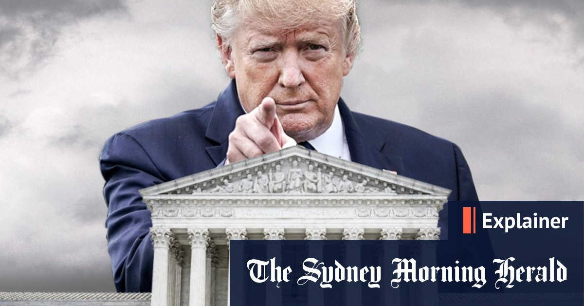 Could Trump use the Supreme Court to stop vote counting? – Sydney Morning Herald