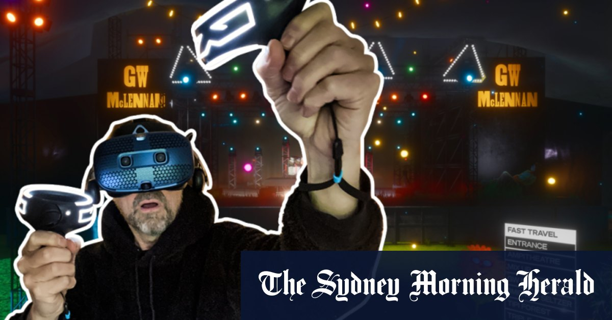 I went to the world's first virtual music concert and all I got was an unsexy robot suit and a headache