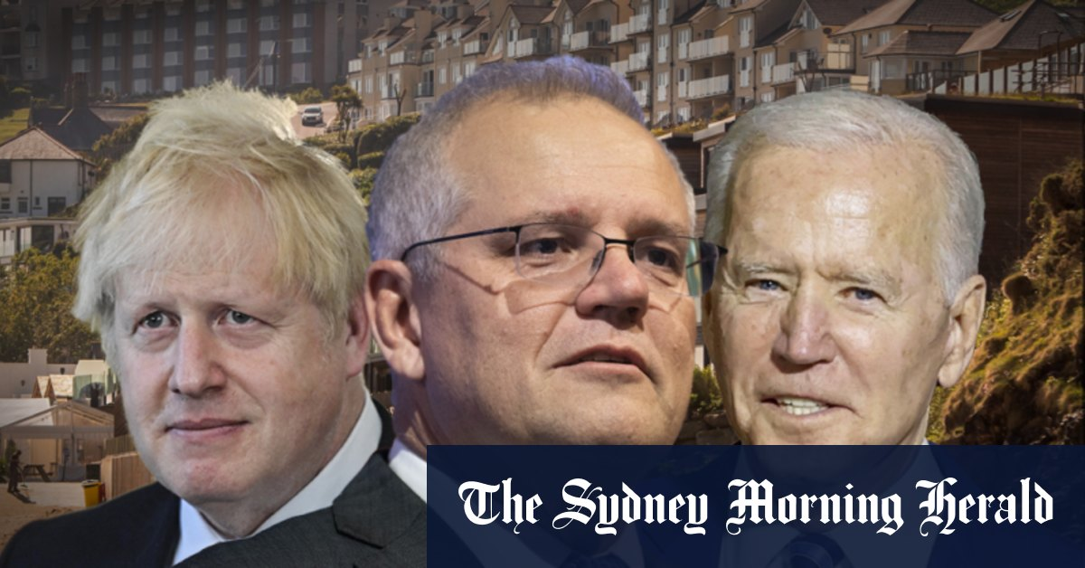 Australian frigates to join Britain in naval exercises in Indo-Pacific as Morrison builds ties at G7 – Sydney Morning Herald
