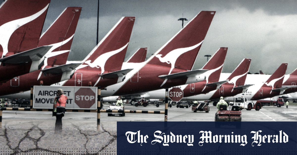Qantas infiltrated by organised criminals says intelligence report – Sydney Morning Herald