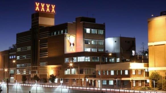 Brisbane's XXXX brewery to make up to 25 staff redundant