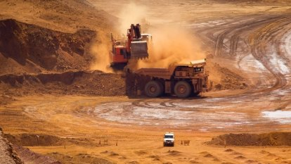 Iron ore futures sink to three month low as pullback continues