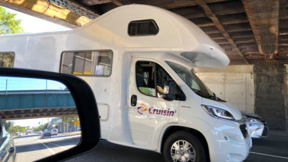 Tourist in campervan the latest Montague Street bridge victim
