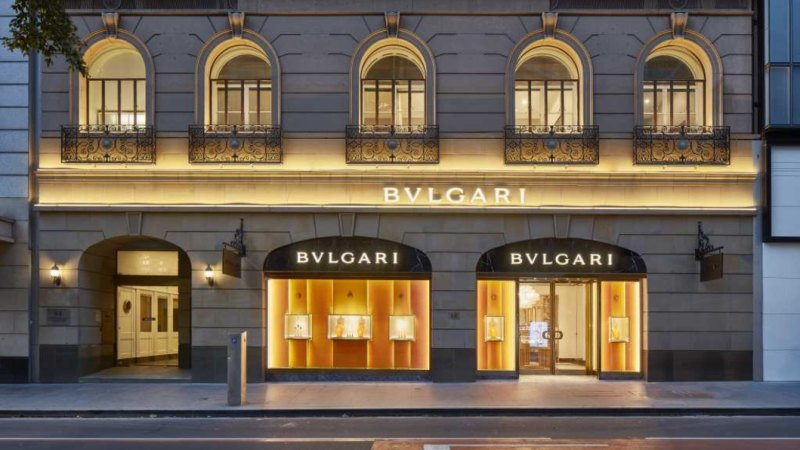 f3bda6877d0 Bulgari s Sydney store sold for a record  50m plus