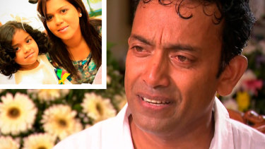 Sudesh Kolonne tells of the loss of his wife and daughter.