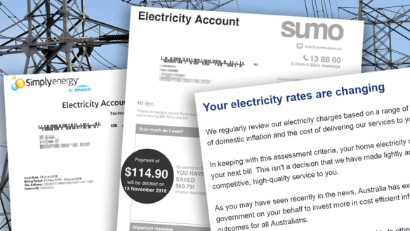 Ian switched retailers to cut his power bill, then it soared 55 per cent