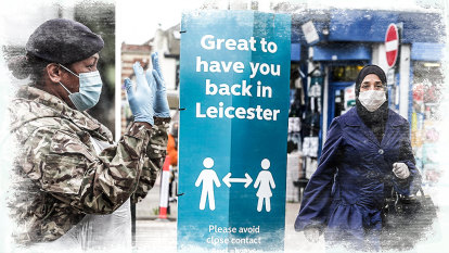 English city of Leicester hit by 'whack-a-mole' lockdown as virus surges