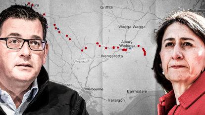 'Unprecedented': NSW-Victoria border closed by coronavirus with police on frontline