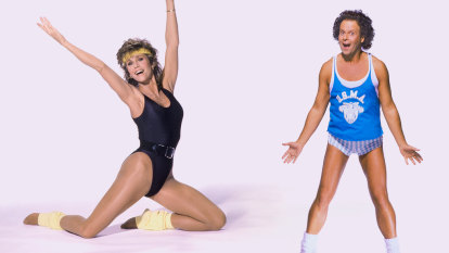 I tried a different retro workout every day for a week and... oh, boy