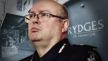 Former police chief Graham Ashton.