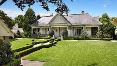 The former house at 16 St Georges Road, Toorak.