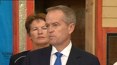 Bill Shorten has promised to reopen the Queensland Tamil family's case.