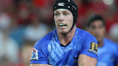 David Pocock during his days at the Western Force.