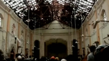 The wave of bomb blasts devastated churches and hotels Sri Lanka.