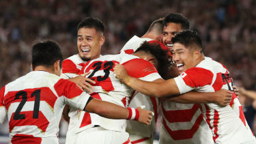 Japan have lit up the Rugby World Cup with stunning wins against Ireland and Scotland.