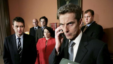 The management style at No. 10 Downing Street has seemingly been gleaned from the playbook of Malcolm Tucker in the BBC show 'The Thick of It'.
