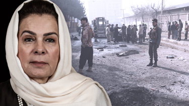 Fatima Gailani came back from retirement to help negotiate Afghan peace with the Taliban.