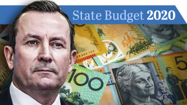Premier Mark McGowan handed the 2020-21 budget down today.