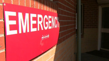 The numbers of people reporting to emergency departments due to mental health issues has grown 76 per cent.