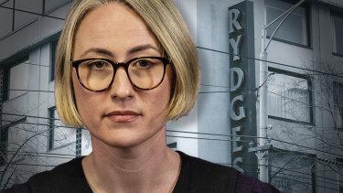 Dr Annaliese van Diemen is giving evidence to the Hotel Quarantine Inquiry