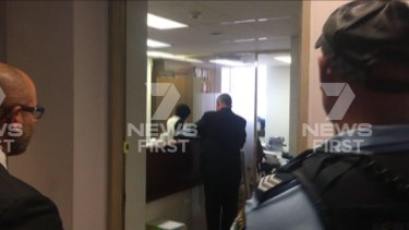 Police raided the Sydney officers of Ali Abbas over the death of Sydney teenager Brayden Dillon.
