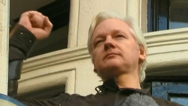 WikiLeaks founder Julian Assange has been jailed for 50 weeks for skipping bail in 2012.