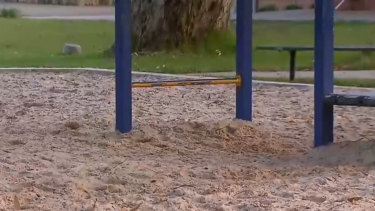 A mother is fighting an assault charge after allegedly slapping another parent at a school pick up.