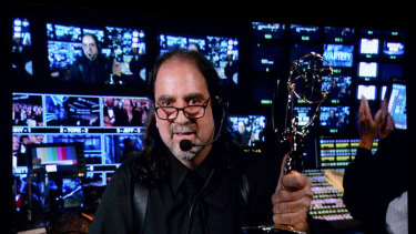 It's not the first time Glenn Weiss has made headlines. In 2012, he accepted a Tony award while directing the Emmys live in LA.