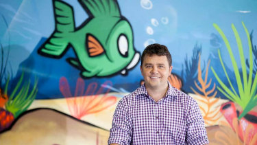 Ian Campbell is the founder of Jump swim schools and has opened the franchise in the United States after it collapsed in Australia.