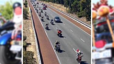 Perth charity motorcycle ride to collect toys for the Salvation Army's Christmas Appeal ended in tragedy with the death of a motorcyclist.
