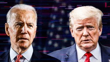 Joe Biden and Donald Trump will square off in three televised debates.