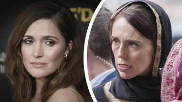 Australian Rose Byrne is tipped to play New Zealand PM Jacinda Ardern in a new film.