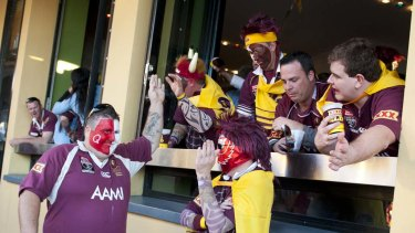 Caxton St bars will be able to welcome double the fans to watch the deciding State of Origin game.