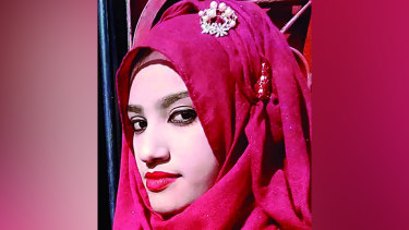 Nusrat Jahan Rafi, 18, was burnt alive after accusing her headmaster of sexual assault.
