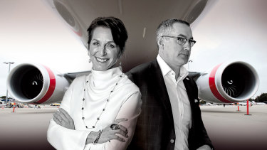 Virgin Australia CEO Paul Scurrah knew that given Bain had included Jayne Hrdlicka as part of its consortium, there was a decent chance he would fall victim to a management overhaul.