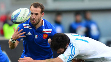 Frederic Michalak during his playing days for France.