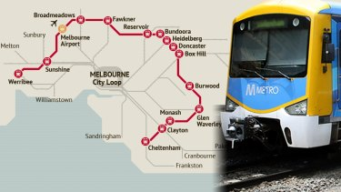 The proposed suburban rail loop would intersect with 10 other rail lines.