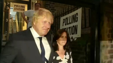 Boris Johnson is said to be the person mostly likely to replace Theresa May.
