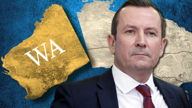 WA Premier Mark McGowan announced the hard border with NSW and Qld would be softened on Monday.