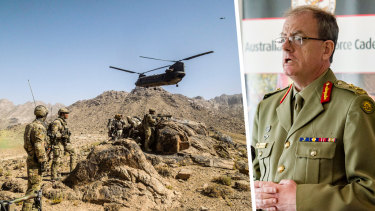 Major-General Paul Brereton, whose report into allegations of special forces war crimes shocked the nation.