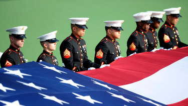 United States Marines are some of the most respected servicemen in America.
