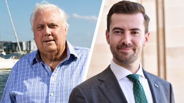 Queensland billionaire Clive Palmer has penned an extraordinary salvo against WA opposition leader Zak Kirkup.