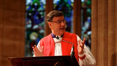 Anglican Archbishop of Sydney Glenn Davies.