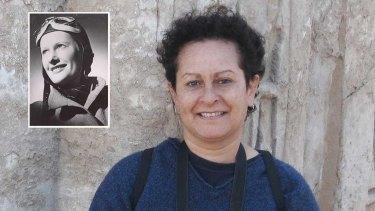 Cathy Bird, niece of Nancy-Bird Walton (inset) has gone into hiding after being told she is not an Australian citizen.