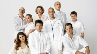 The Bluth family in Arrested Development.